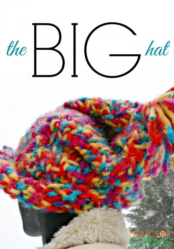 The Big Knit Patterns : Knit a Big Hat Fast   Knitting