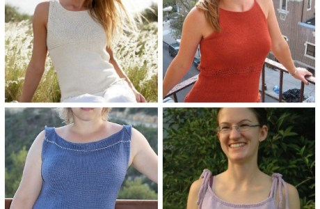 Easy Tops to Knit for Summer