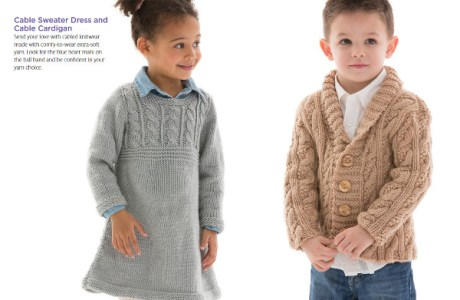 Knit and Crochet for Kids with a Free Ebook from Red Heart