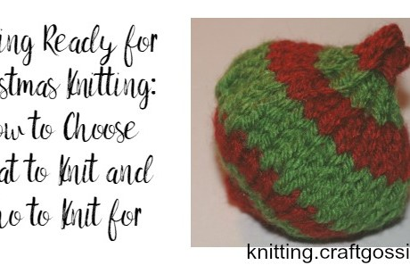 Get Ready for Christmas Knitting: Your Battle Plan