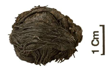 Tiny, 3,000 Year Old Ball of Yarn Found