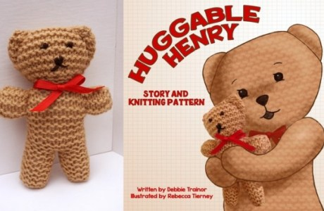Kickstarter Aims to Produce Children's Book about Knit Bear
