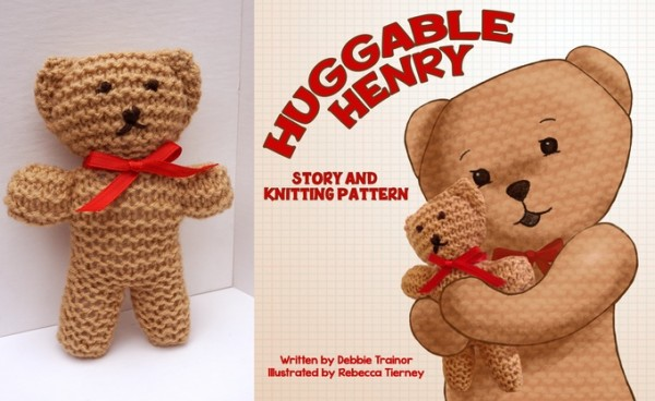 Huggable Henry bear and story Kickstarter.