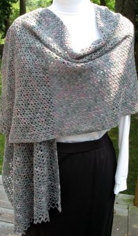 Free Crochet Pattern Prayer Shawl ...