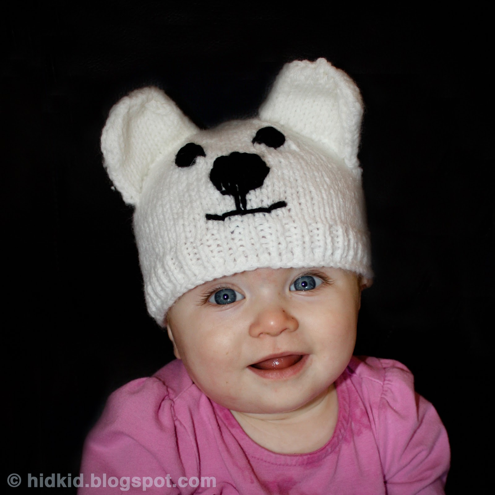 Top Infant Baby Toys Knitting Patterns Galore Polar Bear Knit Hat