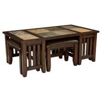 10 Dark Wood Coffee Table with Glass top Pics | Coffee ...