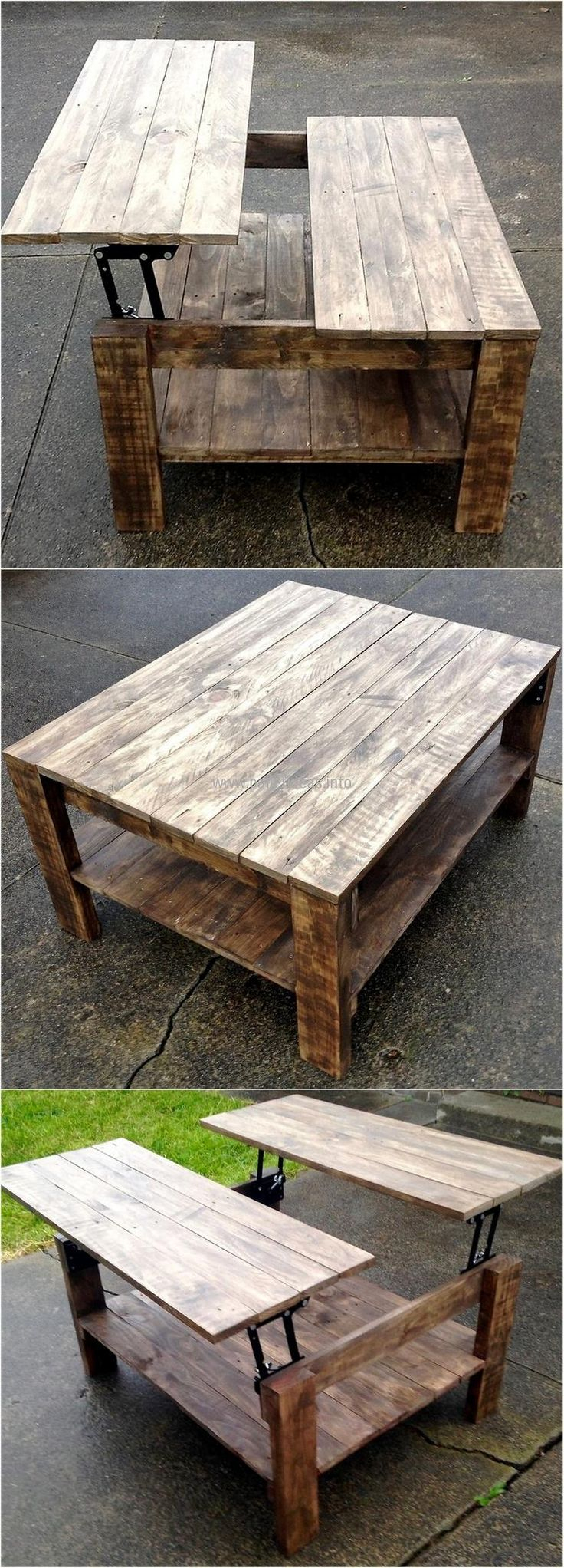 Diy Table Palette 15 Diy Coffee Table With Hidden Storage Images