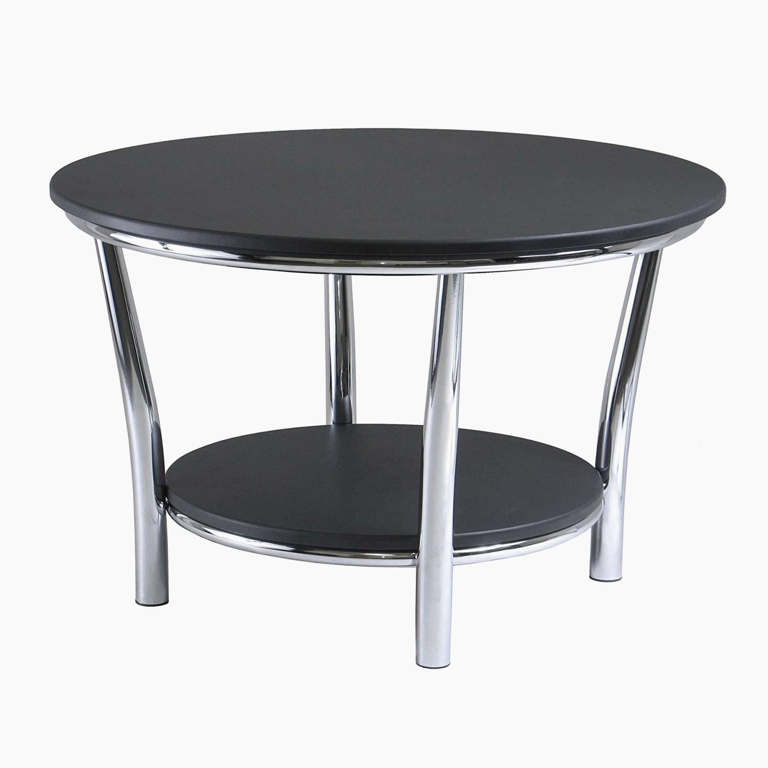 Coffee Table With Black Glass Top Black Glass Coffee Table Round Buethe Org