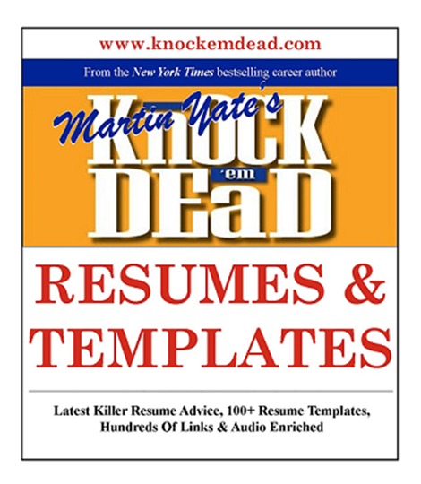 Free Resume Writing Help Available 24/7 - knock em dead resume templates