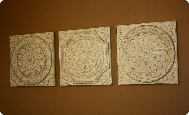 Ceiling Tile Wall Art - Elitflat