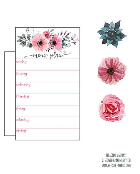 Floral Party Banner Printable - KnockOffDecor