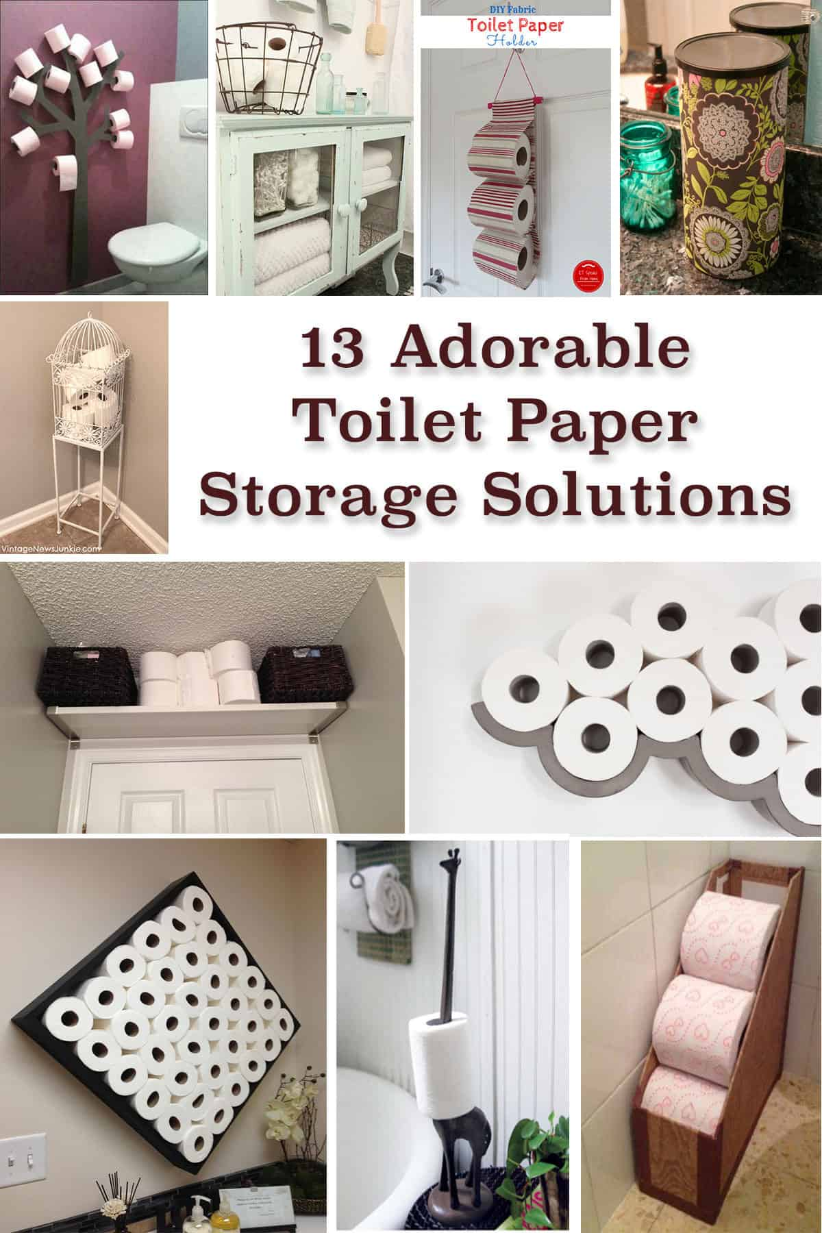 Covered Toilet Paper Storage 13 Adorable Toilet Paper Storage Solutions Knockoffdecor