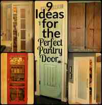 Cool Pantry Door Ideas - Bestsciaticatreatments.com