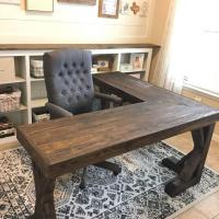 Big and Beautiful Farmhouse Desk