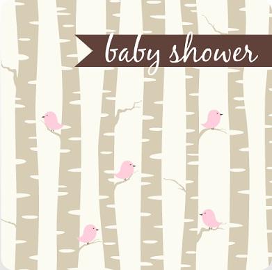 Beautiful Girl Baby Shower Invitations