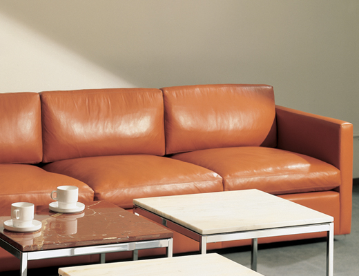 Barcelona Chair Knoll Pfister Sofa And Ottoman | Knoll