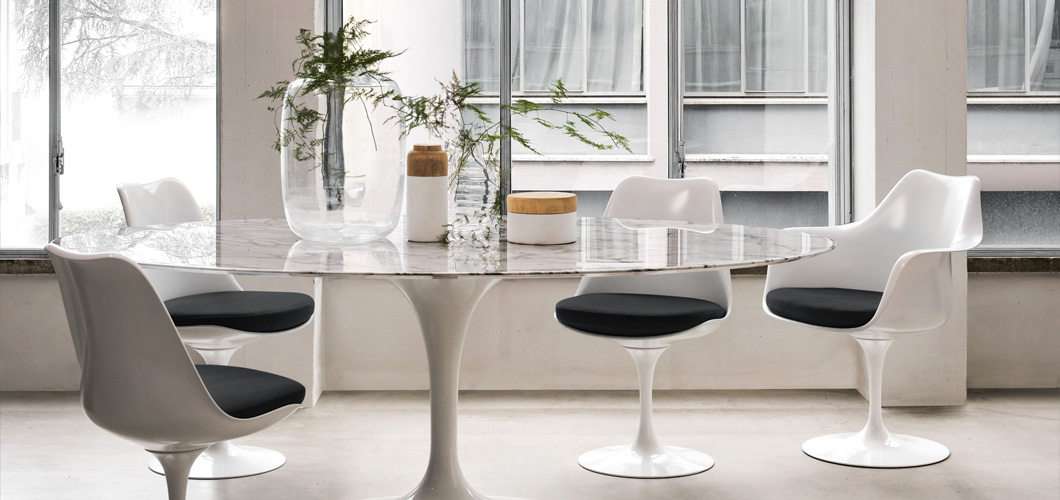 Esstisch Tulip Saarinen Dining Table - Oval | Knoll
