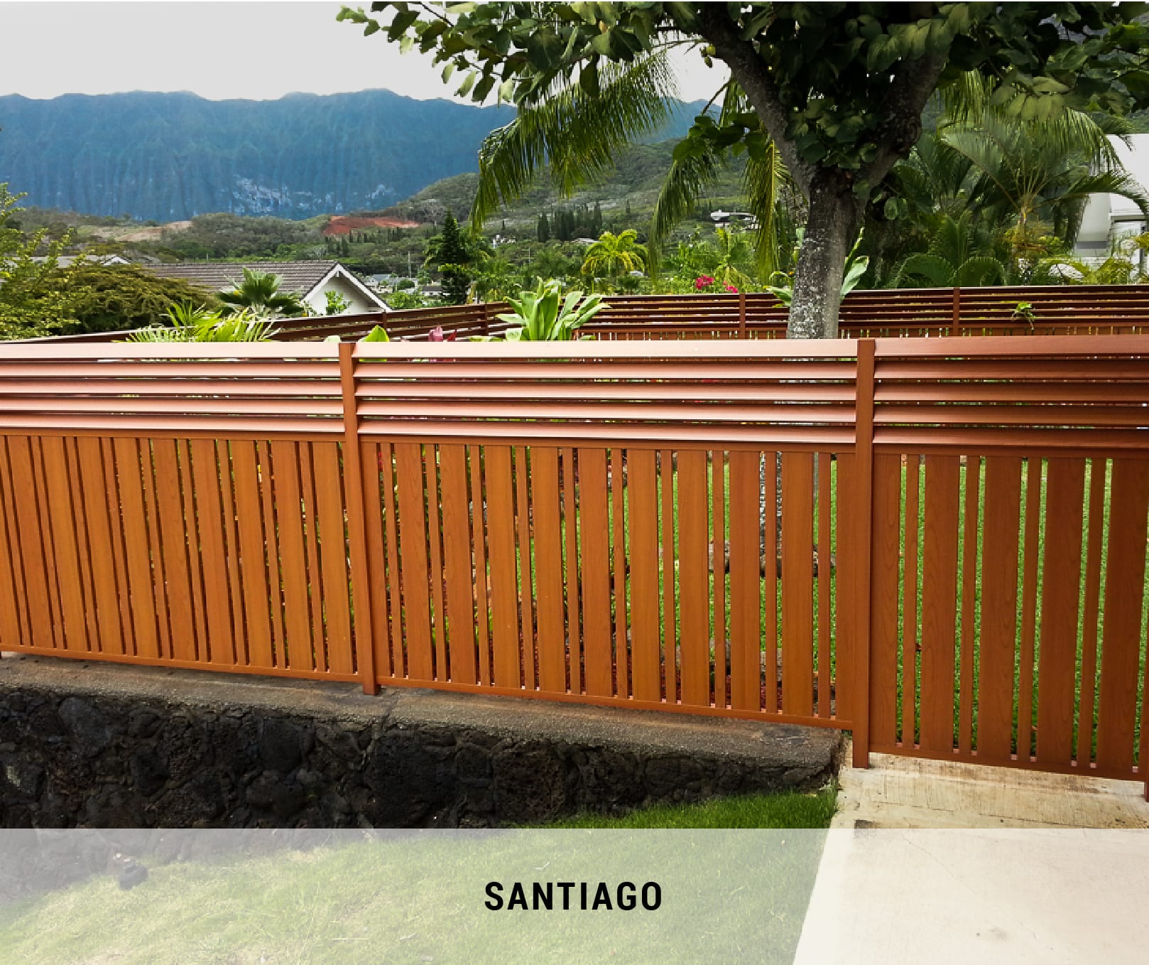Aluminum Fencing That Looks Like Wood Knotwood