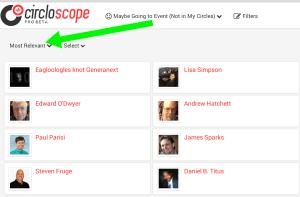 Circloscope Google Plus Circle Manager