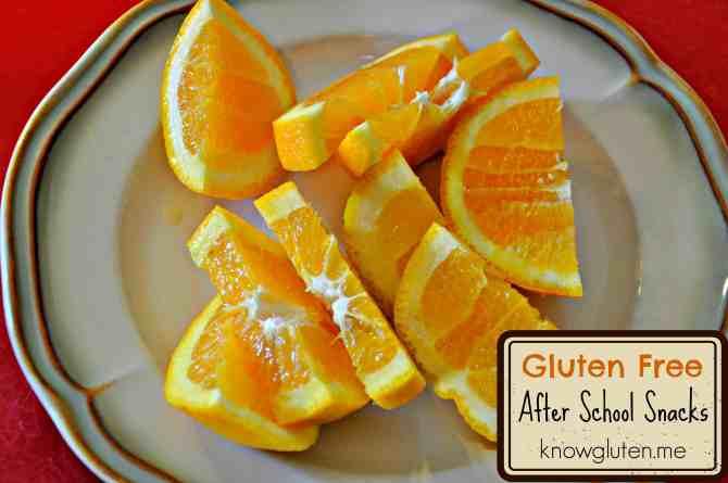 Gluten Free After School Snacks Guest Post Knowgluten.me