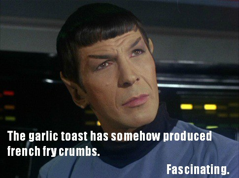 spock french fry crumbs
