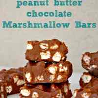 Gluten Free No-Bake Chocolate Marshmallow Bars