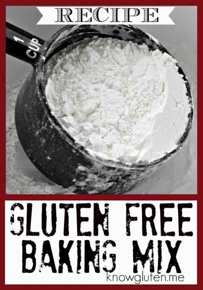Gluten Free Baking Mix Recipe from knowgluten.me