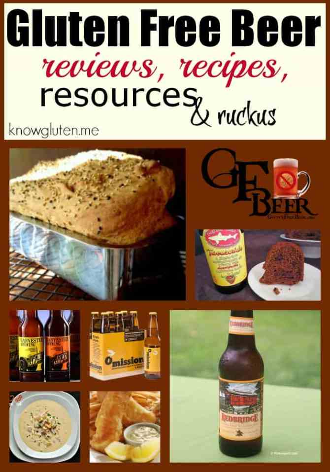 the gluten free beer post from knowgluten.me reviews, recipes, resources and ruckus
