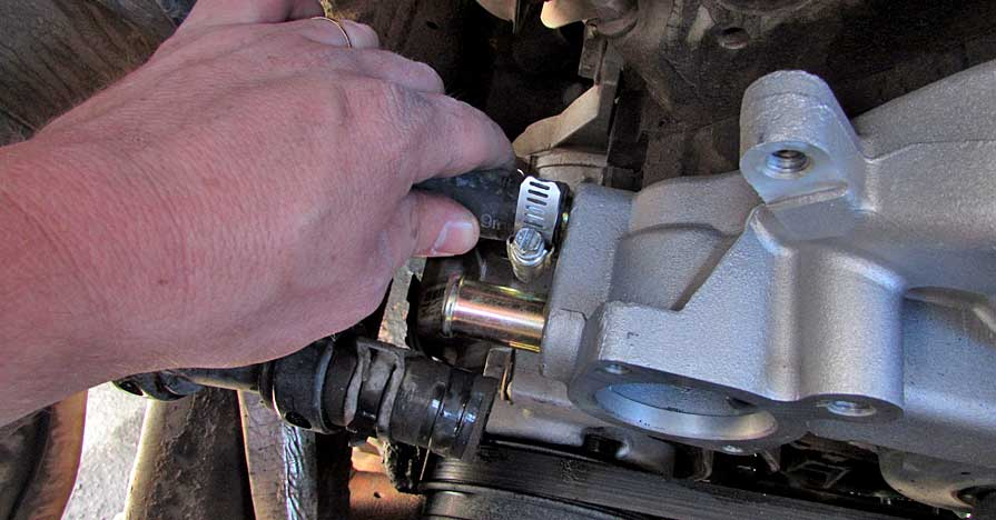 How To Replace A Chevrolet/GMC Truck Water Pump