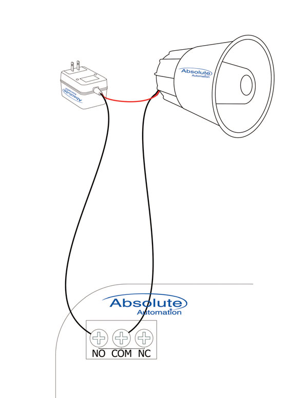 dry contact alarm wiring diagram