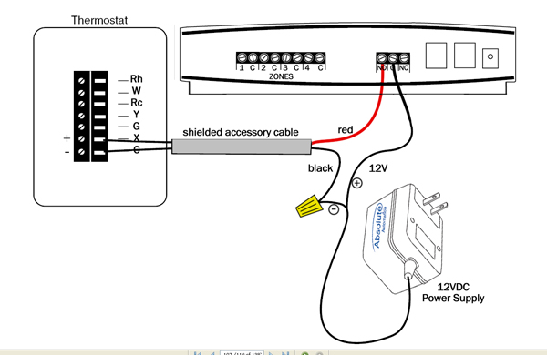 wiring a dual thermostat