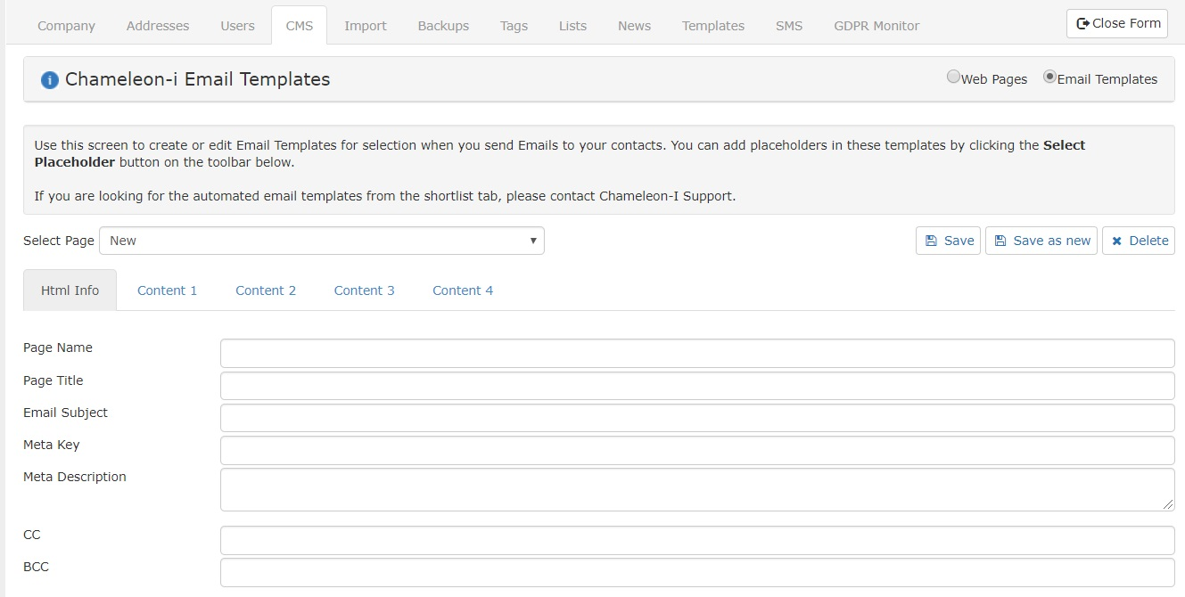 Creating an Email Template \u2013 Help Center