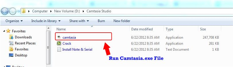 How to Download and Install Camtasia Studio 8 step 1