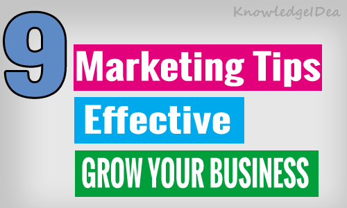Online Marketing Tips For Small Business