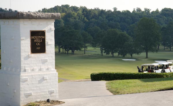 Entrance to Holston Hills Country Club