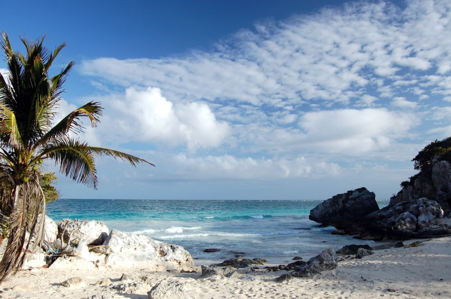 Caribbean near Tulum. Photo: mdanys