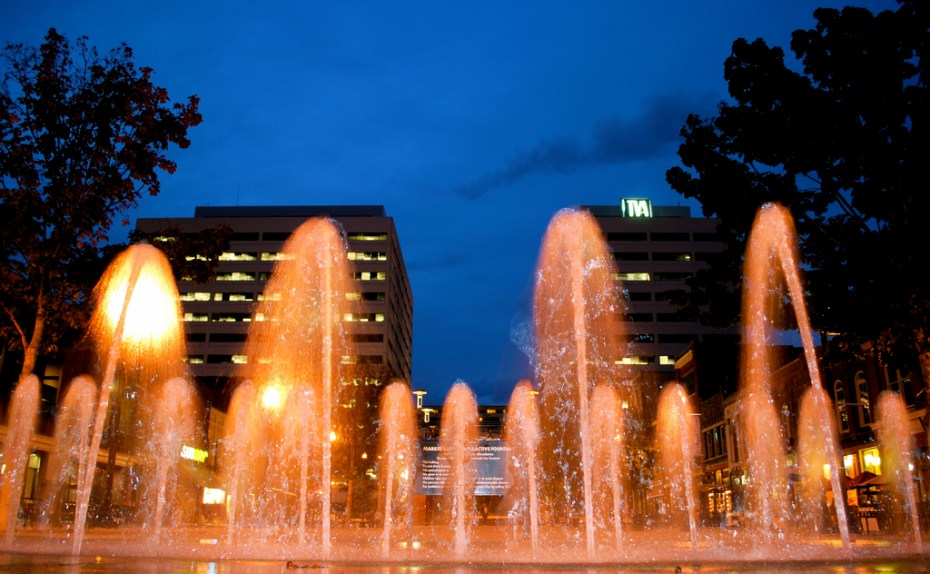 Fountain on Market Square. Photo: M.V. Jantzen