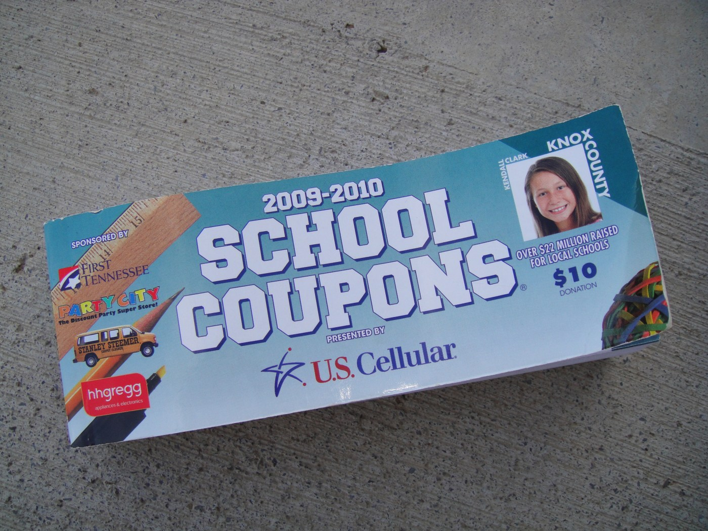 Knoxville School Coupons Booklet