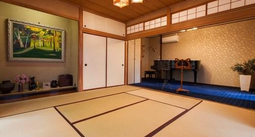 私が一番気に入っている和室エリアの写真です。香音里のレンタルスペース内で最も人気のあるスペースです。
