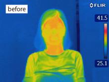 体温上げる