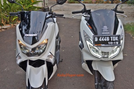 New Honda PCX vs Yamaha NMax