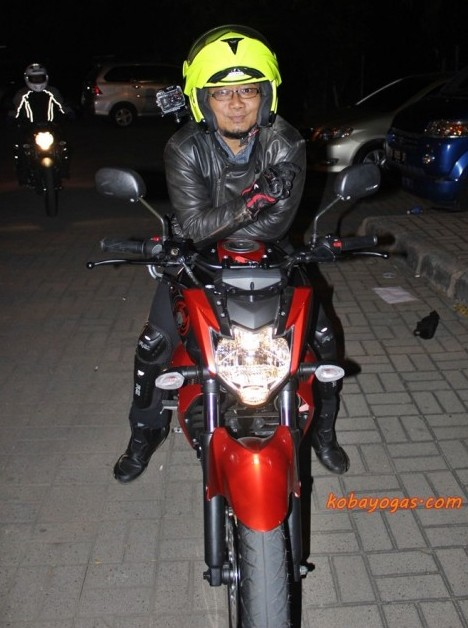Test Ride New Byson FI