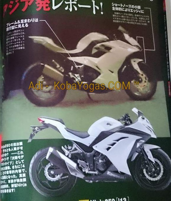 New Ninja 250 2 silinder 2016