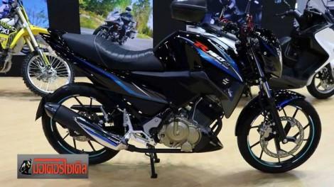 suzuki R150S black hawk