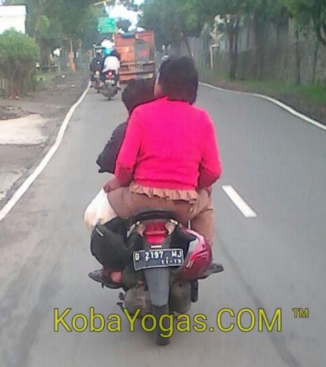 biker yang otaknya di bodi motor