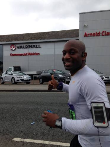 Kobestarr Gets to the End of Manchester Marathon 2014 - Staffordshire 70.3 for Kobestarr.com