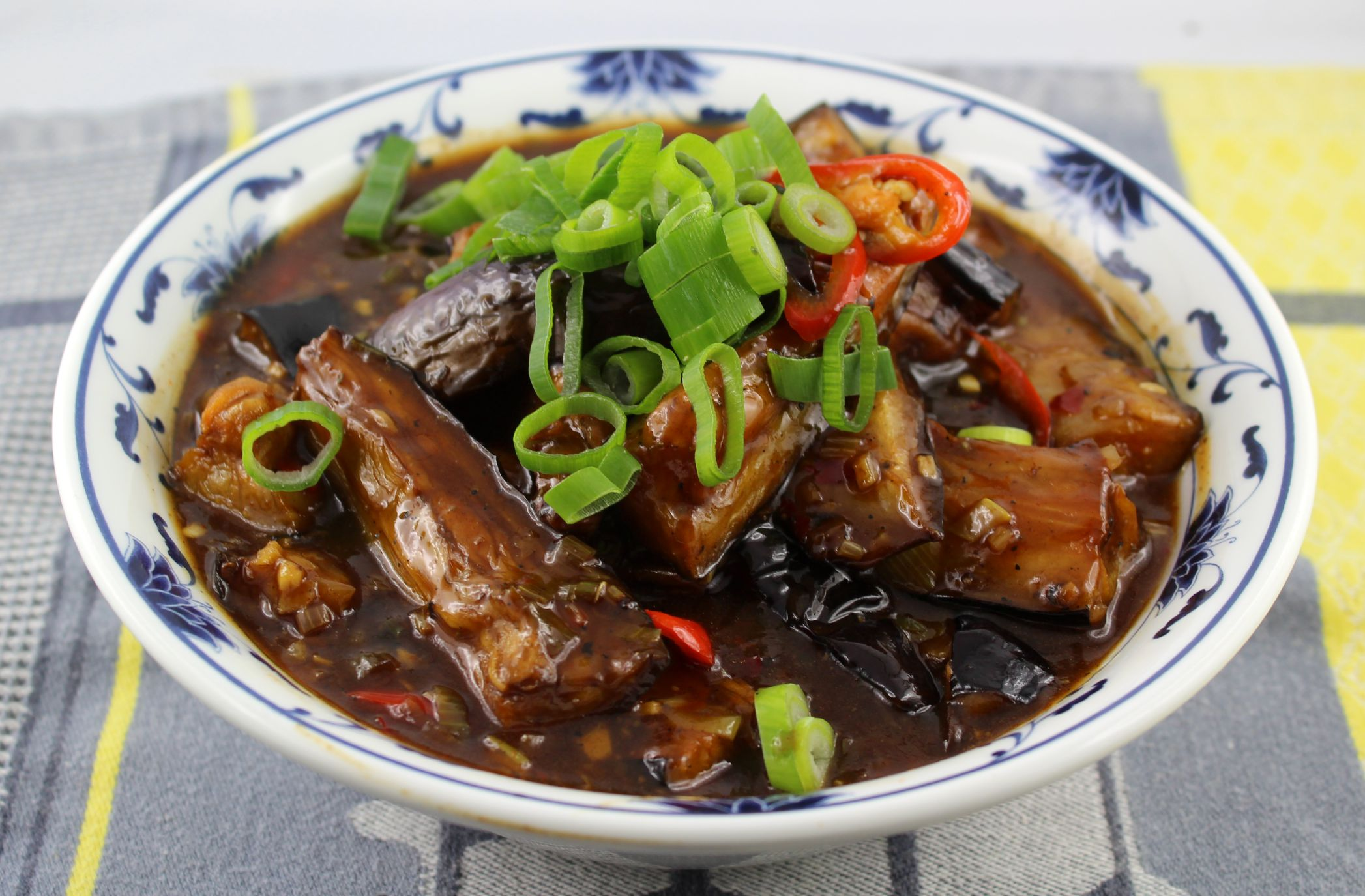 Original Szechuan Küche Aubergine Im Sichuan Style The Food Accomplice
