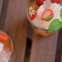Sommer-Sonne-Erdbeerzeit - Erdbeer-Smash (Drink)