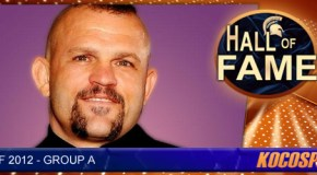 Chuck Liddell inducted into the Kocosports.com Combat Sports Hall of Fame