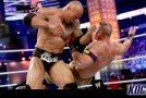 The Rock claims he suffered a torn abdomen mid-match against Cena forcing him to miss Raw